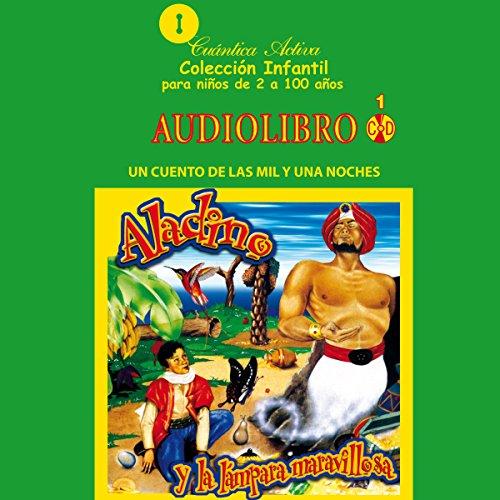 Aladino y la lampara maravillosa audiobook cover art