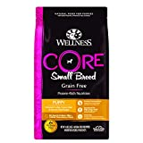 Wellness Core Natural Grain Free Dry Puppy Food, Small Breed Puppy, 4-Pound Bag