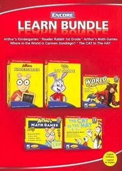 Software Ultimate Learning 5 CD Pack - Arthur, Carmen Sandiego, & Dr. Seuss Book