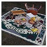 Camping al Aire Libre Estilo étnico Picnic Cubierta de Picnic café Cama y Desayuno sofá Toalla Engrosamiento Picnic Estera Picnic colchoneta Camping LingGe