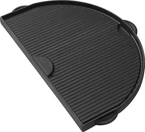 Primo Keramikgrills Gusseisen Grillplatte oval JR 200