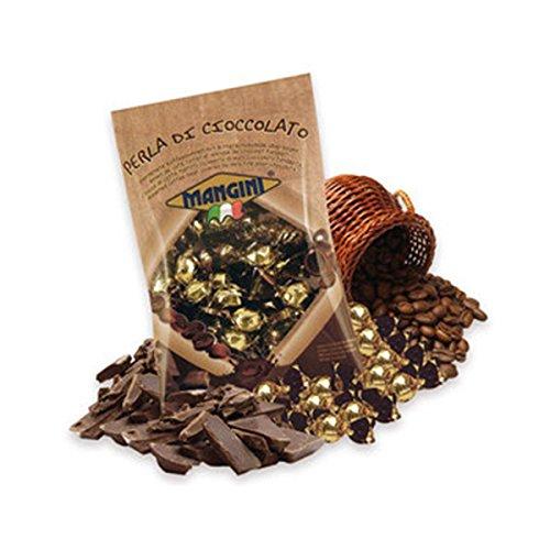 PERLA DI CIOCCOLATO MANGINI kg 1 | Chicco di Caffè Tostato Ricoperto di Puro Cioccolato Fondente