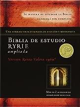 By Charles C. Ryrie Biblia de estudio Ryrie ampliada duotono (Spanish Edition) (Box Lea Ex) [Leather Bound]