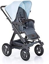 ABC Design Kombi-Kinderwagen Viper 4-2in1 Set aus Babywanne und Sportwagen | mit großen Lufträdern und Teleskop-Schieber - Ice