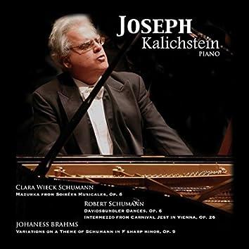 Kalichstein, Joseph: Piano