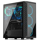 Sedatech PC Gaming Advanced Intel i7-9700F 8X 3.0Ghz, Geforce GTX 1650 4Gb, 8 GB RAM DDR4, 500Gb SSD NVMe M.2 PCIe, 2Tb HDD, USB 3.1, WiFi. Ordenador de sobremesa, Win 10