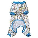 Pet Dog Clothes Pajamas Coat Jumpsuit,3color 4 sizes