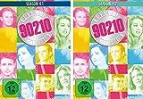 Beverly Hills 90210 komplette Staffel 4 (4.1+4.2) im Set - Deutsche Originalware [8 DVDs] -