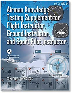 ASA Airman Knowledge Testing Supplement - Flight, Ground, and Sport Instructor