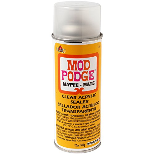 Mod Podge Clear Acrylic Sealer, Matte