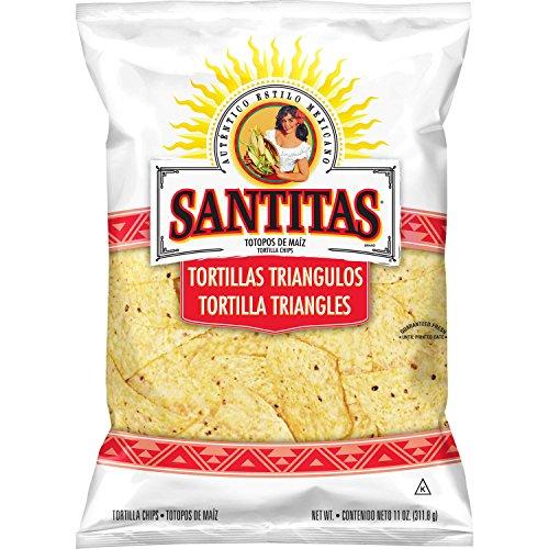 Santitas Tortilla Chips, White Corn, 11 Ounce