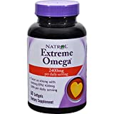 Natrol Omega Fish Oil Extreme 60 Sgel