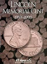 H.E. Harris Lincoln Memorial Cent#1 Coin Folder 1959-1998
