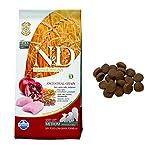 n&d low grain n& d low grain puppy con pollo e melograno secco cane kg. 12