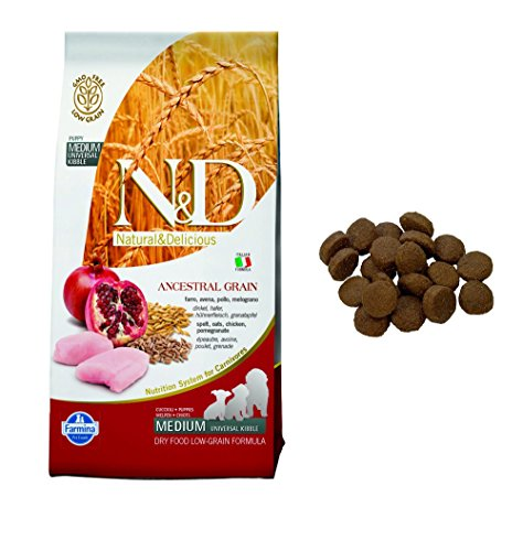 N&d low grain N& d low grain Puppy con Pollo e Melograno Secco Cane kg. 12