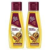 Hair & Care with Walnut & Almond,Non-Sticky Hair Oil, 500 x 2-1000 ml