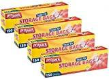 ProPack Disposable Plastic Storage Bags with Original Twist Tie, 1 Gallon Size, 600 Bags, ...