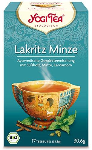 YOGI TEA Yogi-Tee 'Lakritz & Minze' im Beutel (30,6 g) - Bio