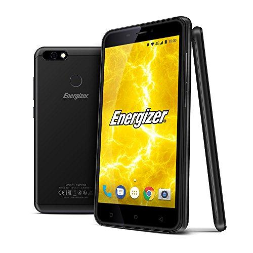 Energizer P550S Power Max Smartphone portable débloqué 4G (Ecran: 5,5 pouces - 16 Go - Double Nano-SIM - Android) Bleu