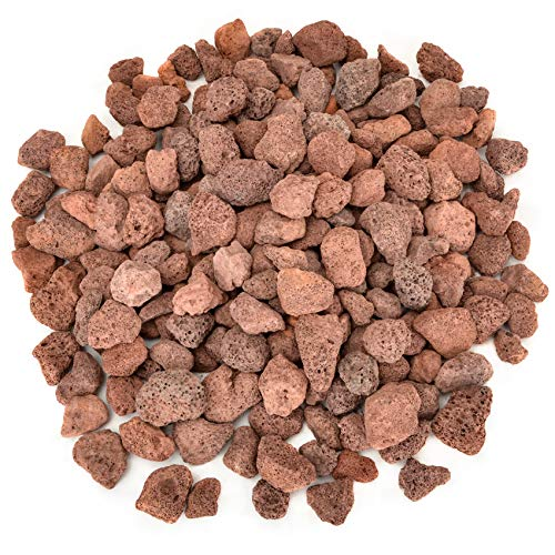 Stanbroil Lava Rock Granules, Decorative Landscaping for Fire Bowls, Fire Pits, Gas Log Sets, Indoor or Outdoor Fireplaces - 10 Pounds