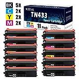 MaxInk MA TN433-11 PK (5BK/2C/2M/2Y)