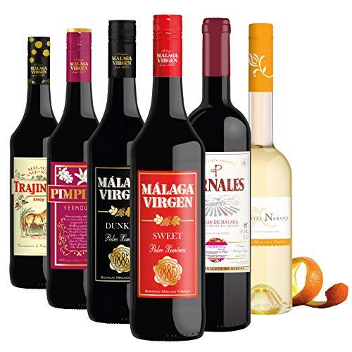 Descubre Málaga - Pack 6 botellas