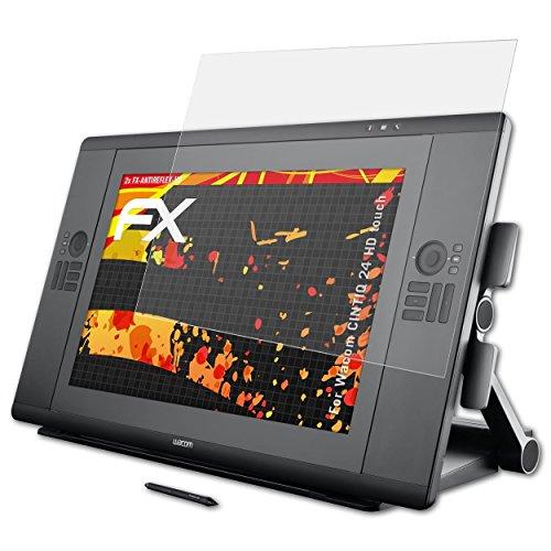 atFoliX Pellicola Proteggi per Wacom CINTIQ 24 HD Touch Protezione Pellicola dello Schermo, Rivestimento antiriflesso HD FX Protettore Schermo (2X)