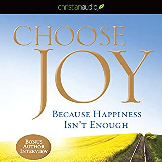 Choose Joy audiobook cover art