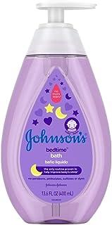 Johnsons Baby Bedtime Bath 13.6 Ounce (400ml) (6 Pack)