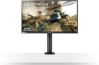 LG UltraGear 27GN88A 27 Inch Gaming Monitor QHD (2560 x 1440) - Nano IPS 1ms GtG 144Hz, G-SYNC Compatible, Black