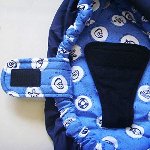 Rishx Tracolla per Neonato, Traspirante Regolabile Imbracatura per Neonato Carrozzina per Allattamento
