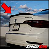 SpoilerKing Trunk Lip Spoiler with Center Cut (284GC) Compatible with Volkswagen Jetta VII 2019 - on