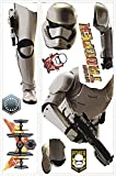 RoomMates Star Wars The Force Awakens Ep VII Storm Trooper Peel and Stick Giant Wall Decal,Multicolor
