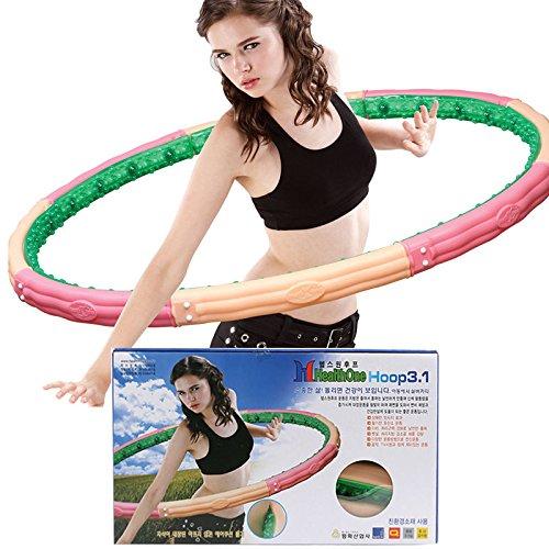 E-X Ex Magnet Schweres Gewicht Gesundheit Eines Hoola Hula-Hoop 3.1kg 6.83lb für Ernährung Übung