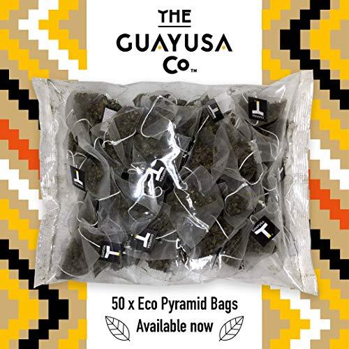 Té Verde de Guayusa - 50 Bolsas Pirámide