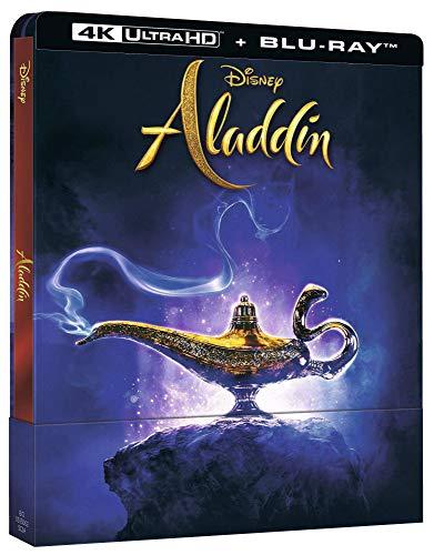 Aladdin - Realverfilmung - Limitiertes 4k Steelbook (Import inkl. deutschem Ton)