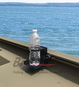 Brocraft Folding Cup Holder For Tracker Boat Versatrack System /90 Degree Lund Sport Track---Black