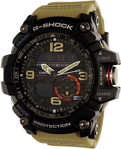 CASIO Herren Analog-Digital Uhr mit Harz Armband GG-1000-1A5ER