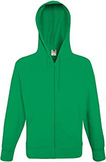 Fruit of the Loom Lightweight Hooded Sweat Jacket - 14 Colours/Size Sml-2XL