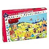 Djeco- Rompecabezas de observación, Multicolor (DJ07561)