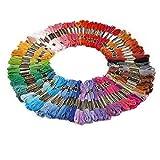 Kit x100 tricot broderie fil coton multicolore coudre femme