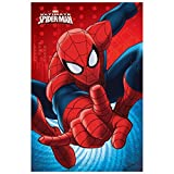 Spiderman Manta Polar niño (SP-H-BLANKET-25), Multicolor, 100x140