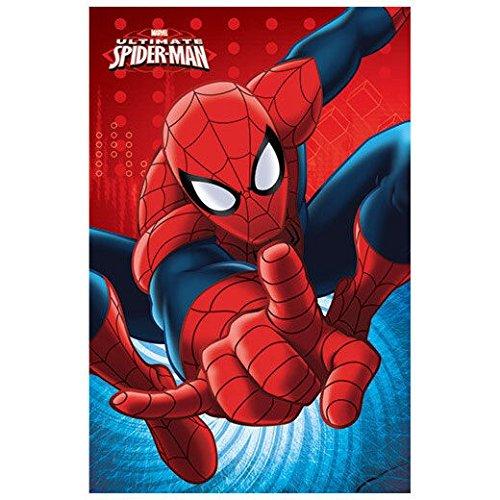 Spiderman Manta Polar niño (SP-H-BLANKET-25), Multicolor, 100x140