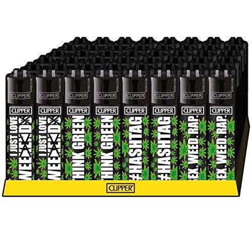 Weedness 4 x clipper aansteker set - Limited Clipper gas aansteker bong aansteker pijp aansteker wegwerp aansteker aansteker