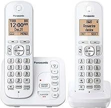 $34 » Panasonic KX-TG7122SK DECT 6.0 Digital Answering System Talking Caller ID Expandable Upto 6 Handsets Intercom Cordless Pho...