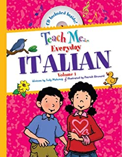 Teach Me Everyday Italian (English and Italian Edition)