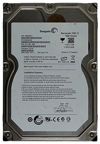 1500GB Seagate HDD Barracuda 7200.11 ST31500341AS SATA2 ID14203