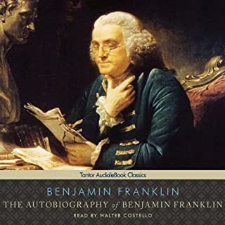 Autobiography of Benjamin Franklin audiobook cover art