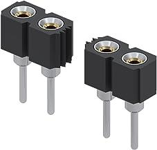 Beryllium Copper, IC /& Component Socket Pack of 20 917 Series 917-47-108-41-005000 8 Contacts Transistor Socket