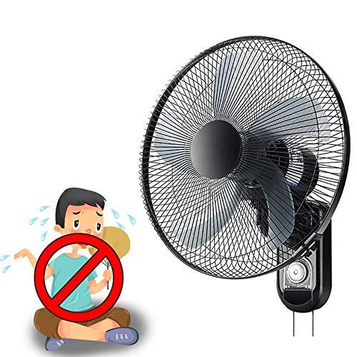 N / A Energy Saving Pinnwand Fan, Gewerbe Ventilator, leicht zu reinigen, Mute, Versorgung Weitwinkel Luft ohne Toten Winkel,Verlängerungskabel